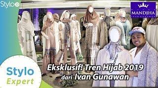 Tren Hijab Lebaran 2019 Koleksi Ivan Gunawan Mandjha Hijab | Model Baju Muslim & Kerudung Terbaru