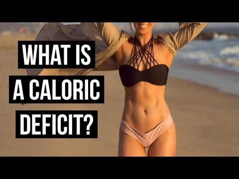 HOW TO CALCULATE A CALORIC DEFICIT FOR FAT LOSS �� Anna Victoria
