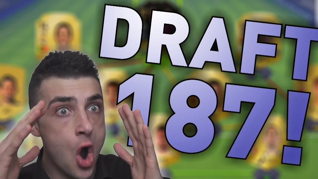 ZROBIŁEM DRAFT 187 !!! FIFA 18