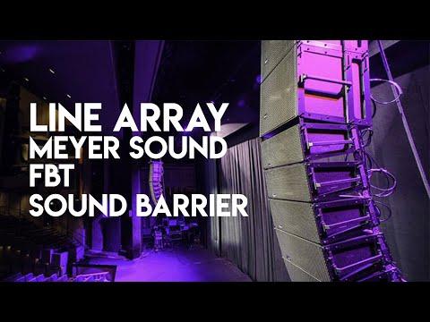 Conoce los Line Array Meyer Sound Leopard, FBT y Sound Barrier