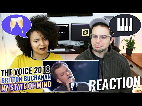 Britton Buchanan – New York State of Mind | The Voice 2018 Knockout | REACTION