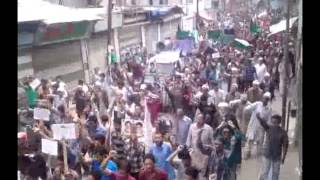 International Quds Day in Kargil I.S.K 02 08 2013