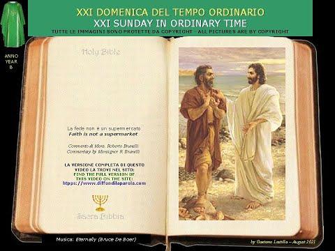 Volete andarvene anche voi?Signore da chi andremo? Tu hai parole di vita eterna...