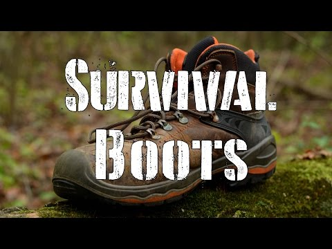 Survival Boots: 550 Para Cord trick to help  you survive!