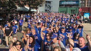 1,629 METS FANS STORM FENWAY PARK -  WICKED LOYAL WITH THE 7 LINE ARMY