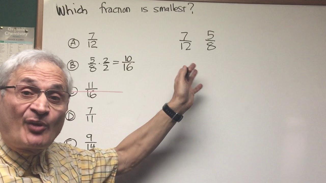 fraction comparison orgoman dat destroyer math youtube