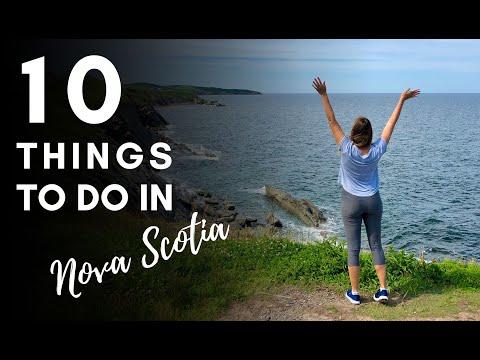 10 Fun Things To Do in Nova Scotia, Canada 🇨🇦
