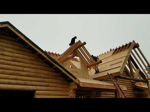 BUILDING DORMERS ON A CABIN ROOF