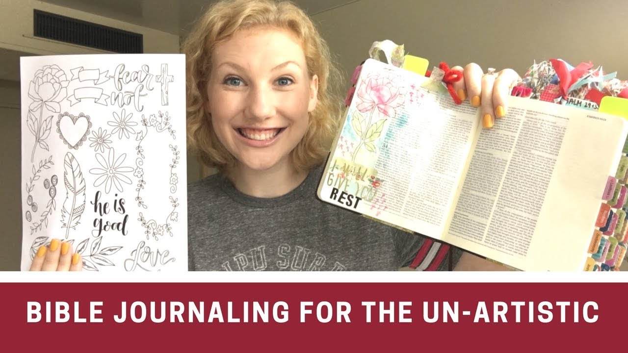 Bible Journaling When You Are Not Artistic 4 Things To Try
