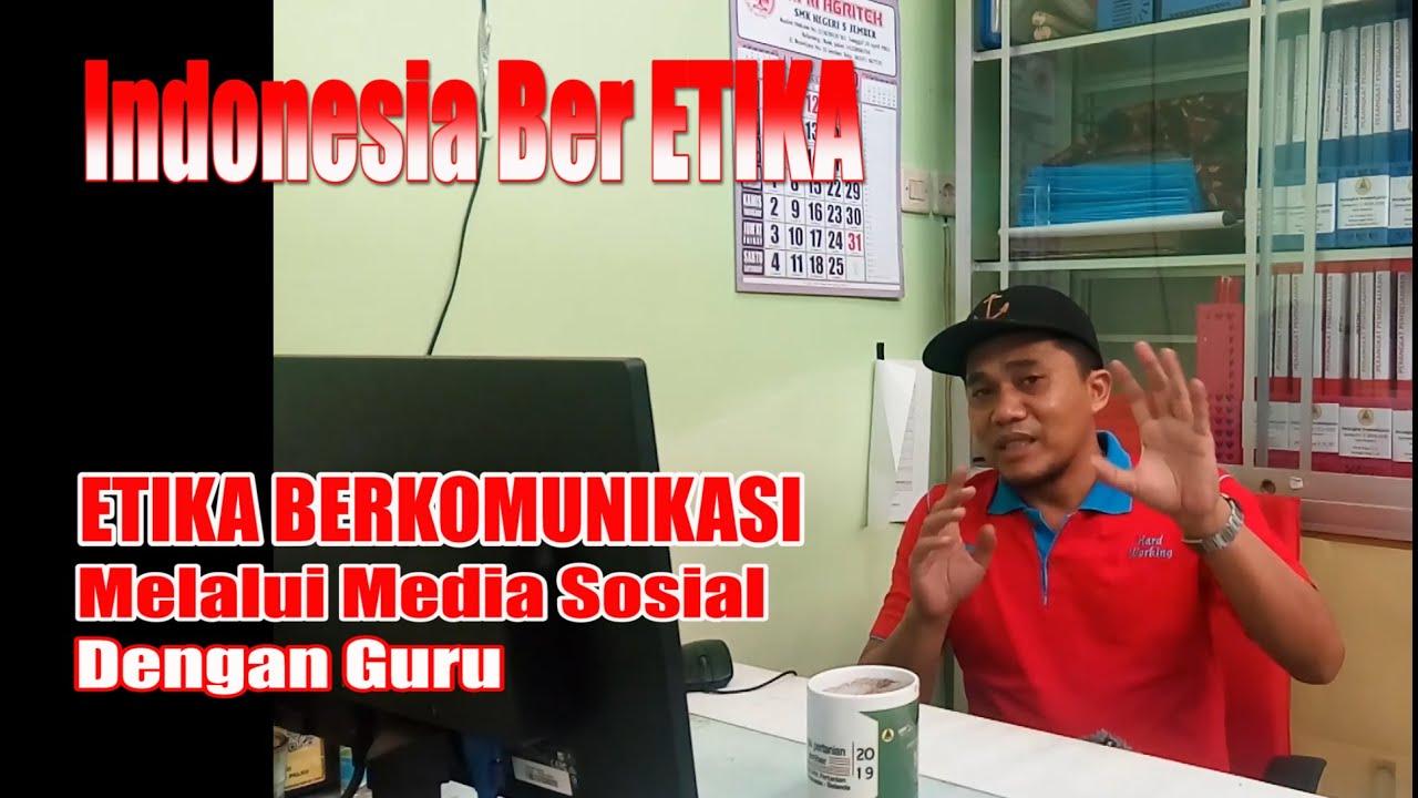 Download Indonesia berEtika - ETIKA BERKOMUNIKASI MELALUI MEDSOS DENGAN GURU