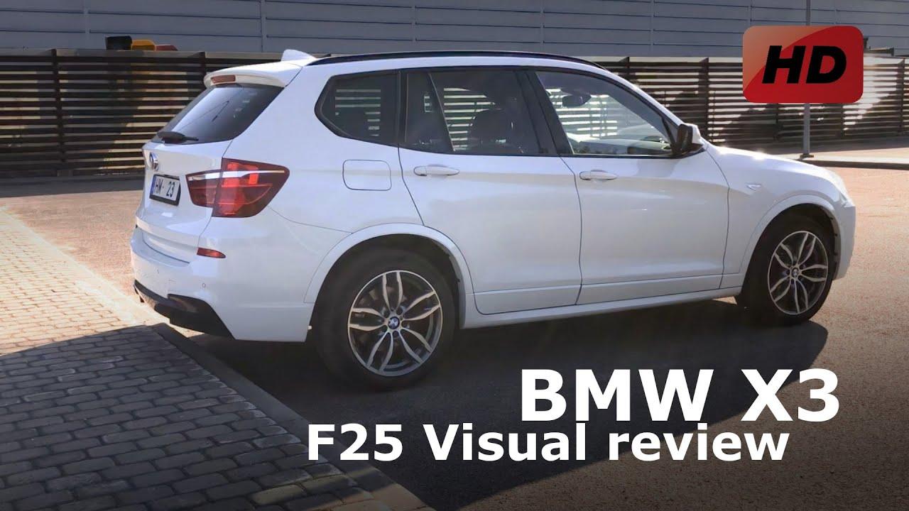 BMW X3 F25 M-Paket 2.0d 184hp - YouTube