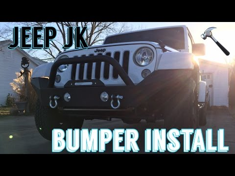 Jeep JK Bumper stock Removal / aftermarket Install – The Deer Slayer