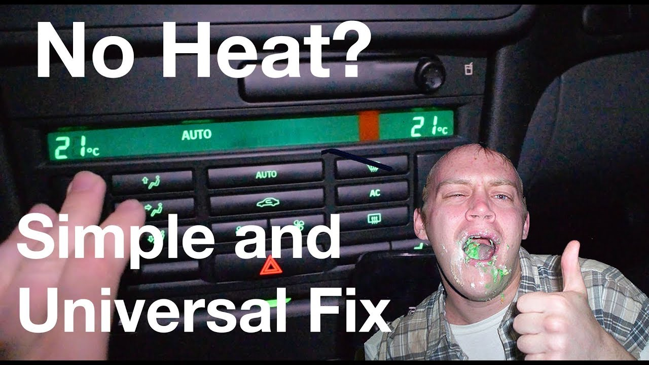 Universal Car Heater Fix Simple And Effective Diy