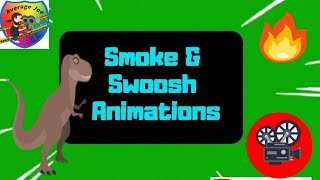 Gambar cover Swoosh Animation Effect on Green Screen Free! 1080p