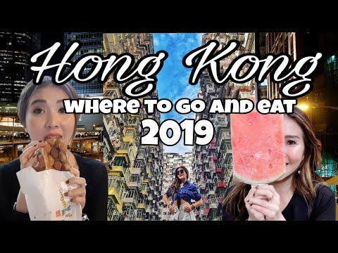 Hong Kong Where To EAT And What To DO 2019 [ENG SUBS] - Vlog Myfunfoodiary