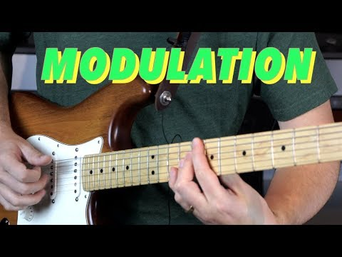 The Secret Weapon of Songwriting: Modulation