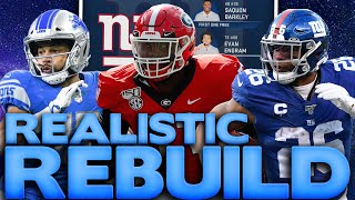 It's Saquon Barkley Or Nothing! Rebuilding the New York Giants Madden 20 Franchise Rebuild