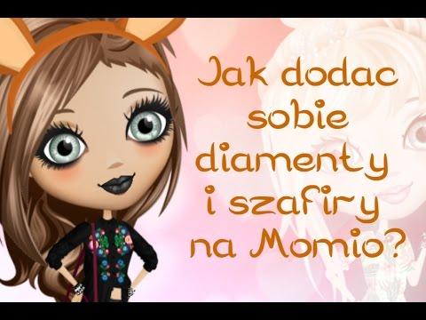 Momio #1 Jak dodać sobie diamenty i szafiry na Momio