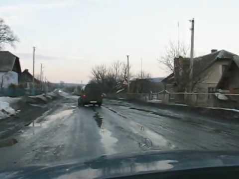 дорога с.Кровінка Теребовля-Тернопіль