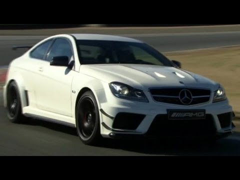 Mercedes-Benz C63 AMG Coupe Black Series latest promo