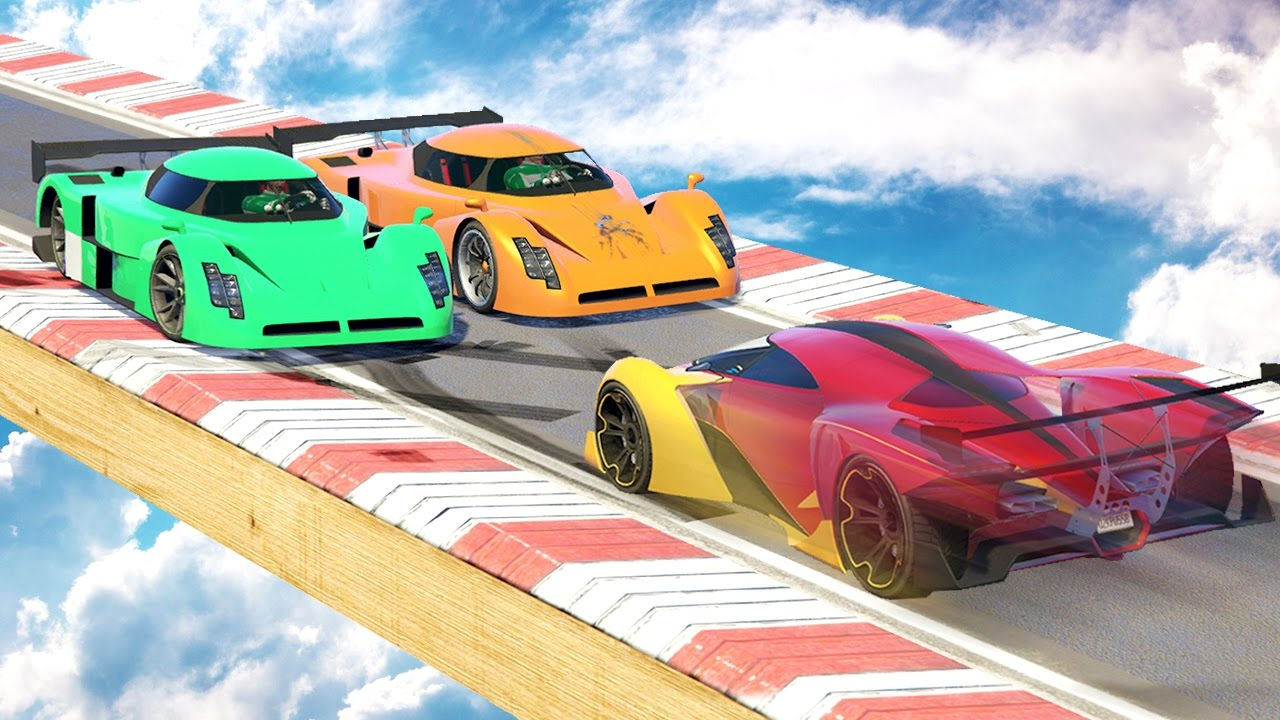 2 SUPER CARS vs 1 NORMAL CAR GTA 5 Funny Moments  Doovi