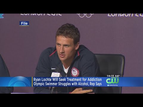 Ryan Lochte Reportedly Seeking Treatment For Alcohol Addiction