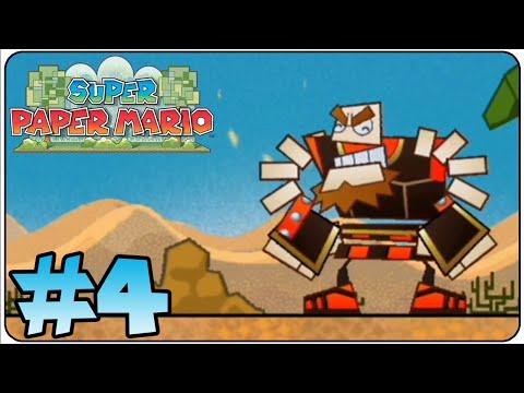 Super Paper Mario Walkthrough Part 4 Chapter 1-3