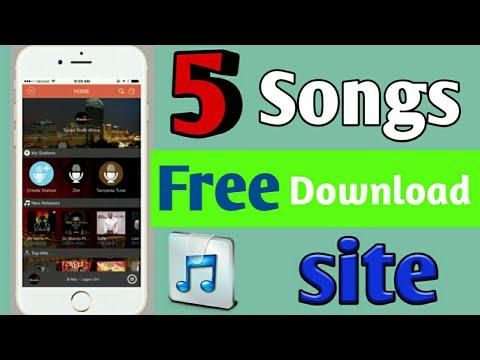 5 Free Songs Download Sites Top5 Free Songs Free Download Songs Mp3 Songs Download Free Site Youtube