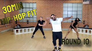 "30min Hip-Hop Fit Dance Workout ""Round 10"" 