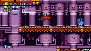 [WR] Sonic Mania - Flying Battery Act 1 Speedrun (Sonic) - 1:19.42