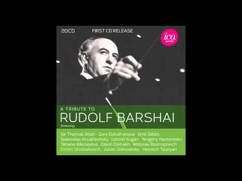 A Tribute To Rudolf Barshai - Bunin: Concerto for Viola and Orchestra