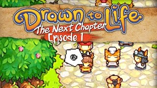 Let's Play: Drawn to Life: The Next Chapter - Episode 1 - Washed Out...