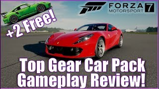 Top Gear Car Pack Gameplay Review! +2 Free Cars (Fixed)
