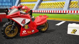 Smyths Toys - Lego City Racing Bike Transporter 60084