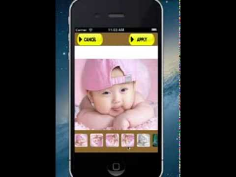 Photo Editor/Photo Effects iPhone Apps Source Code