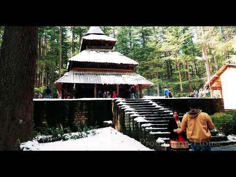 Hidimba Devi Temple HD Video,Manali.Himachal Pradesh Tourism Video,India.Hadimba Mandir