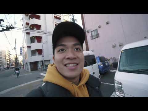 going to osaka from kyoto! (japan day 6) | DAVID SAMSON