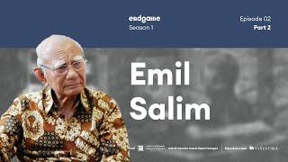 Ibarat Pelari Cepat Berlomba Marathon   #Endgame #RI75 Special with Prof. Emil Salim (Part 2)