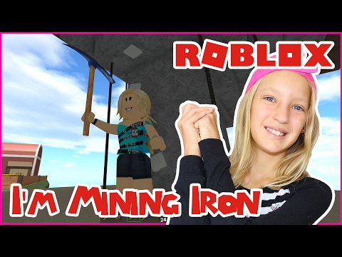 I'm Mining Iron! / Roblox Skyblock 2