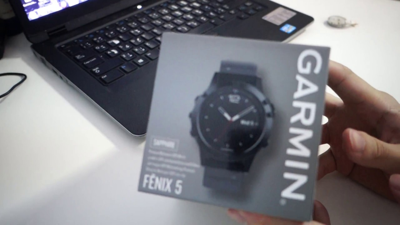 Unboxing Garmin Fenix 5 Sapphire Thailand แกะกล อง Garmin Fenix 5 Sapphire