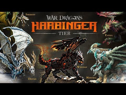 harbinger dragons flying youtube