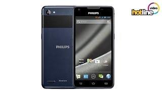 Обзор смартфона Philips Xenium W6610 Navy
