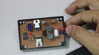 อุปกรณ์ยืดอายุแบตเตอรีรถยนต์/แบตโซล่าเซลล์ Pb Battery Desulfator