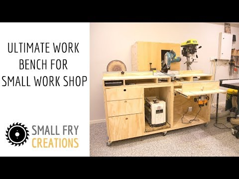 DIY | Ultimate Workbench for Small Work Shop
