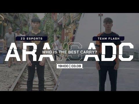 ZD.ARA KẺ SOÁN NGÔI VƯƠNG CỦA FL.ADC | Team Flash vs ZD Esports - ĐTDV Mùa Đông 2019