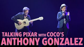 Talking Pixar with COCO 39 s Anthony Gonzalez