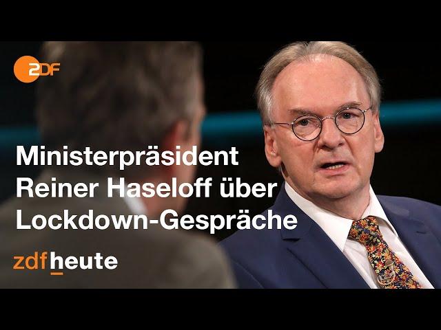 Corona: Diskussion über die Wirkung des Lockdown light   Markus Lanz vom 17. November 2020