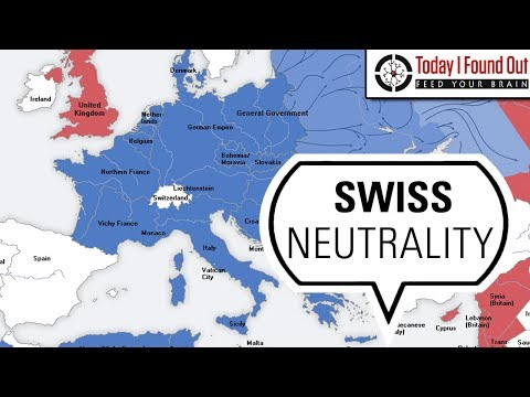 How Switzerland Managed to Remain Neutral with WWI and WWII