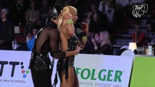 2014 GrandSlam Latin Tallinn | The Semi-Final Reel | DanceSport Total
