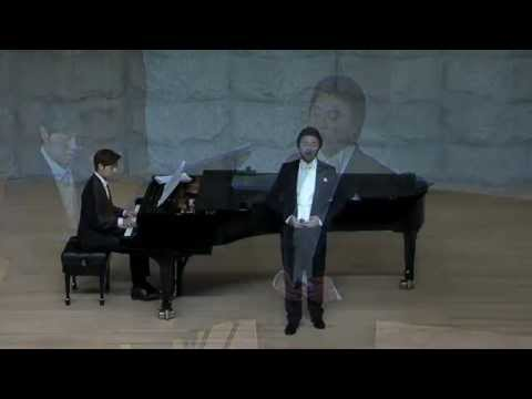 테너 조민규 - Messiah (Handel): Comfort ye / Every valley